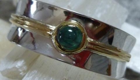 Ring, konkave Schiene